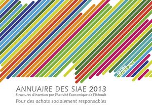 Couverture de l'annuaire 2016 des SIAE de l'Hérault