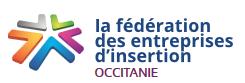 Logo Fédération des entreprises d'insertion Occitanie